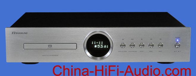 Shanling SCD200 CD & SACD PLAYER with Sony servo system